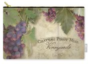 Vineyard Series - Chateau Pinot Noir Vineyards Sign Carry-all Pouch