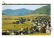 Vineyards In Autumn In The Morning Carry-all Pouch