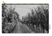 Vineyards Of Old Horizontal Bw Carry-all Pouch