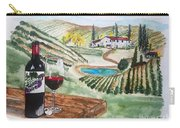Vineyards Of Tuscany  Carry-all Pouch
