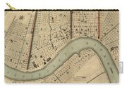 Vintage 1840s Map Of New Orleans Carry-all Pouch