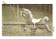 Whimsical Quote Carry-all Pouch