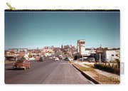 Vintage 1950s View Of Congress Avenue Looking North From South Congress To The Capitol Carry-all Pouch