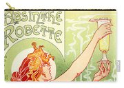 Vintage Absinthe Robette Poster Carry-all Pouch