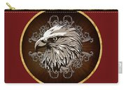 Vintage American Bald Eagle Carry-all Pouch