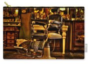 Vintage Barber Chair Carry-all Pouch