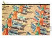 Vintage Beach Carry-all Pouch