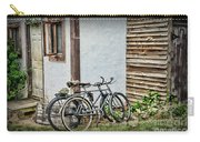 Vintage Bicycles The Journey Carry-all Pouch