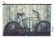Vintage Bike Polaroid Transfer Carry-all Pouch