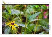 Vintage Black-eyed Susans Carry-all Pouch