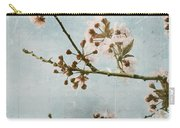 Vintage Blossoms Carry-all Pouch