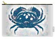 Vintage Blue Crab Carry-all Pouch