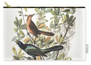 Vintage Boat-tailed Grackles Audubon Carry-all Pouch