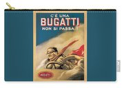 Vintage Bugatti Advert Carry-all Pouch