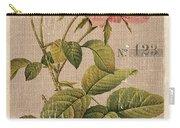 Vintage Burlap Floral 2 Carry-all Pouch