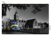 Vintage Bus At Taunton School Carry-all Pouch