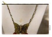 Vintage Butterfly Dreams Necklace Carry-all Pouch