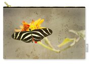Vintage Butterfly Carry-all Pouch