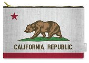 Vintage California Flag Carry-all Pouch