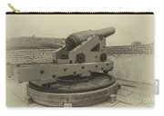 Vintage Cannon At Fort Moultrie Carry-all Pouch