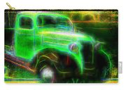 Vintage Car 4 Neons Edition Carry-all Pouch