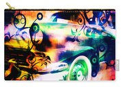 Vintage Car 1 Neons Edition Carry-all Pouch