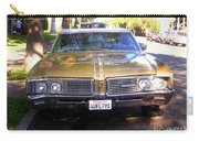 Vintage Car. Front View Carry-all Pouch