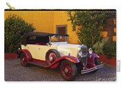 Vintage Car In Funchal, Madeira Carry-all Pouch