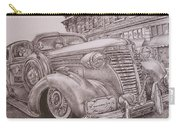 Vintage Car On The Street Carry-all Pouch