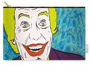 Vintage Cesar Romero's Joker Carry-all Pouch
