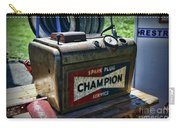 Vintage Champion Spark Plug Cleaner Carry-all Pouch