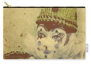 Vintage Circus Postcard Carry-all Pouch