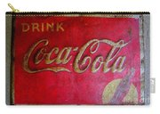 Vintage Coca-cola Sign Carry-all Pouch