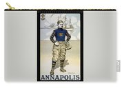 Vintage College Football Annapolis Carry-all Pouch