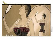 Vintage Corset Ad 1890 Carry-all Pouch