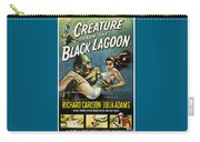 Vintage Creature From The Black Lagoon Poster Carry-all Pouch