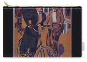 Vintage Cycle Poster March Davis Cycle 100 Dollars Carry-all Pouch