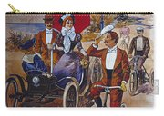 Vintage Cycle Poster Prinetti Stucchi Unica Grande Fabbrica Italiana Milano Carry-all Pouch