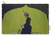 Vintage Cycle Poster Victoria Fahrrad Werke Act Ges Nurnberg Carry-all Pouch