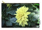 Vintage Dahlia Carry-all Pouch