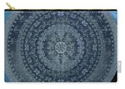 Vintage Denim Mandala Carry-all Pouch