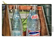 Vintage Double Dot Wooded Pepsi Carrier Carry-all Pouch