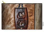 Vintage Electrical Outlet Carry-all Pouch