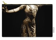 Vintage Exotic Dancer Carry-all Pouch