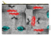 Vintage Faces Carry-all Pouch