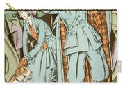 Vintage Fashion Plate Twenties Sporting Outfits Carry-all Pouch