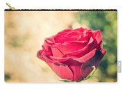 Vintage Film Effect Rose. Carry-all Pouch