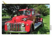 Vintage Fire Truck Carry-all Pouch