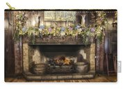 Vintage Fireplace Carry-all Pouch