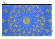 Vintage Fleur De Lis Pattern Design Carry-all Pouch